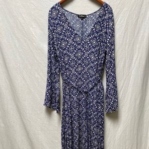 Lulu Printed Maxi Dress